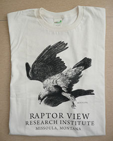 Raptor View Research Institute Tshirt Front
